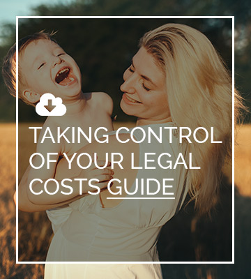 Taking Control Of Your Legal Costs Guide