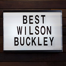 Best Wilson Buckley