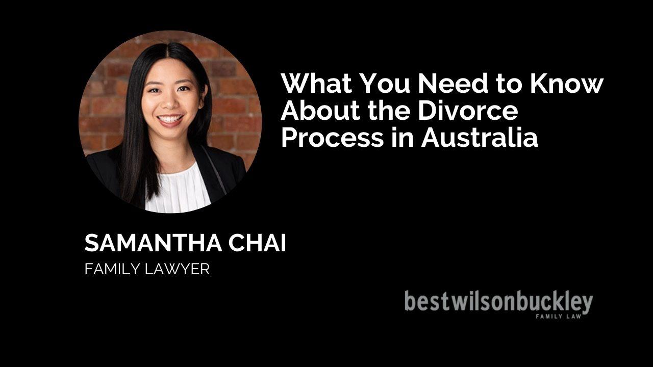 divorce process in australia