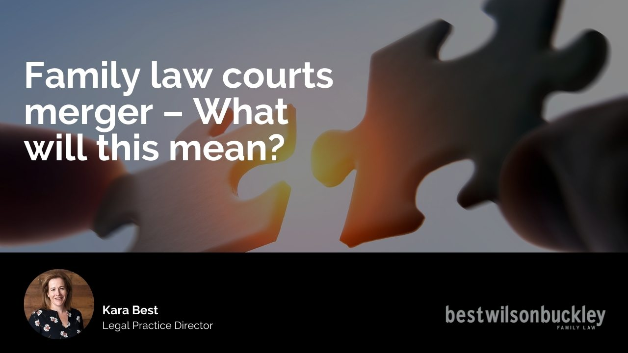 Family law courts merger